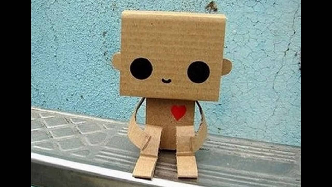Робот из картона своими руками фото 493