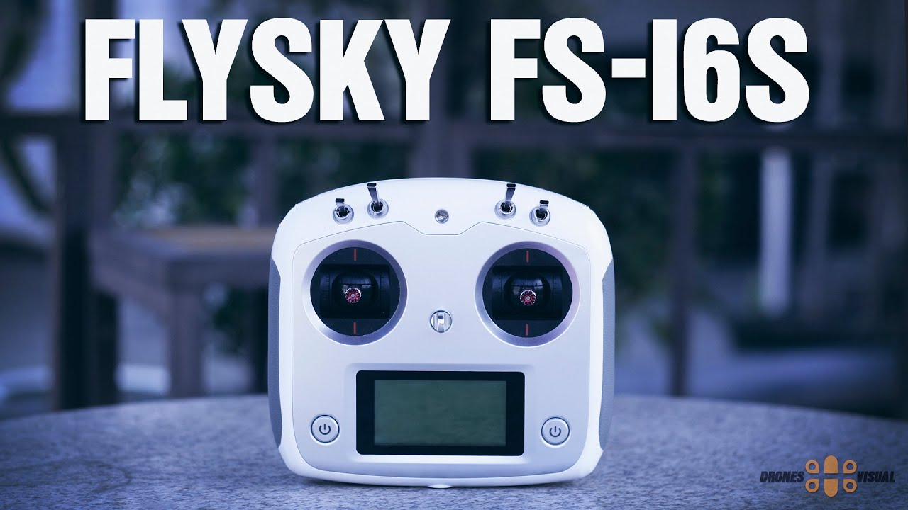 FlySky FS-i6S Transmitter and FlySky FS-iA6B Receiver Introduction