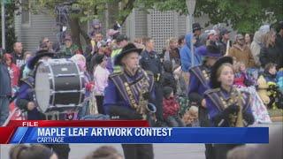 Maple Leaf Festival Art Contest