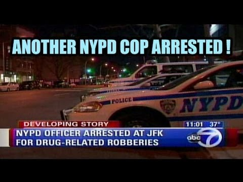 NYPD cop Arrested for being member of Organized Crime Ring ! .. Only Police should have Guns ?!
