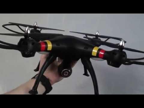 Квадрокоптер Kai Deng K70C. Большой, бюджетный - YouTube