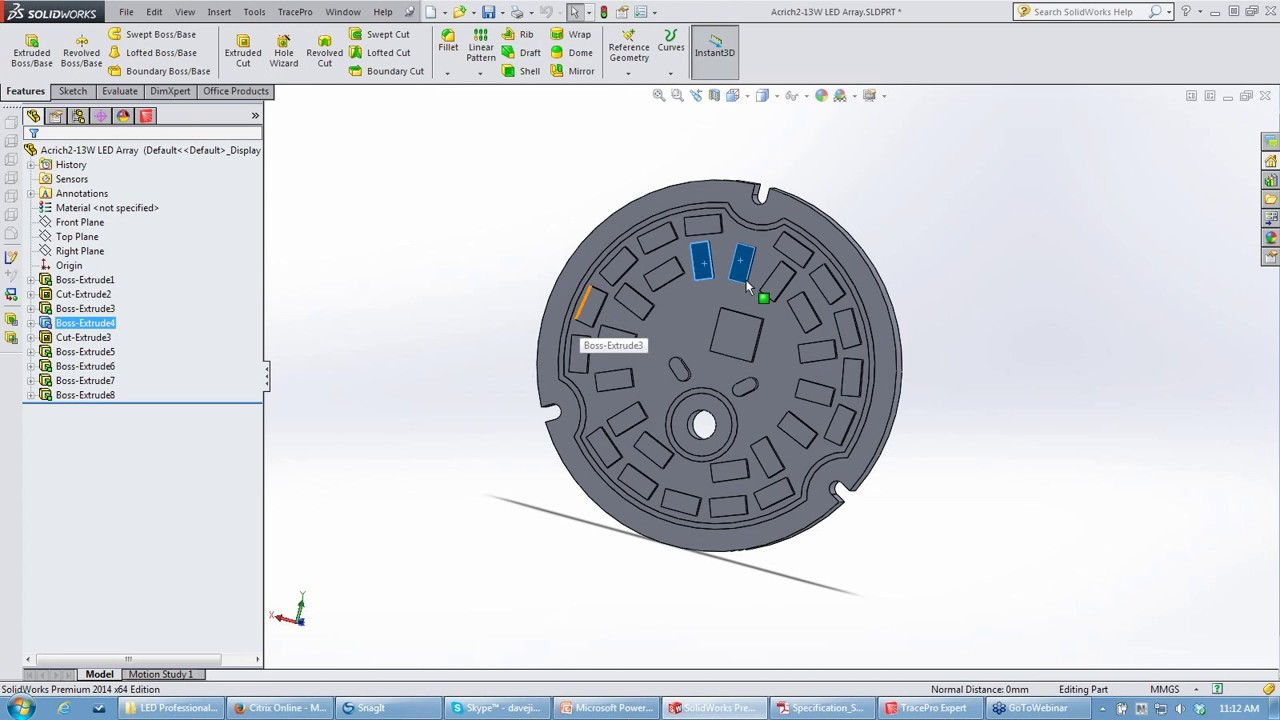 30  LED Luminaire Design Optimization and Analysis (May 2014
