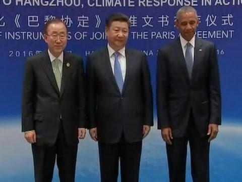 US and China Join Climate Deal