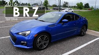 2016 Subaru BRZ Review | Test Drive | Road Test