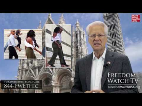 RWW News: Larry Klayman Is Outraged By Michelle Obama's Shoulders