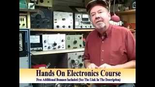 Electronics For Beginners-How To Learn Basic Electronics in Easy Lessons-Electronics Course/Tutorial