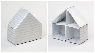Origami House Box