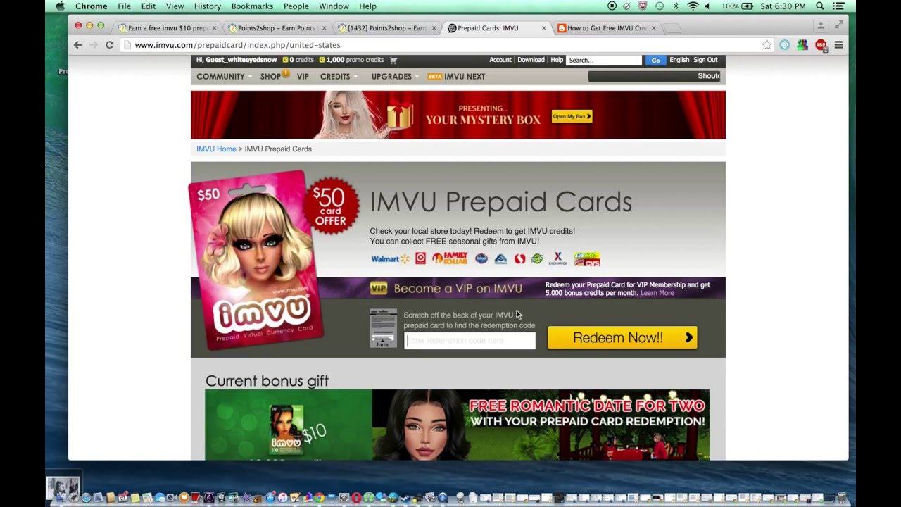 ** How to Get Free IMVU Credits March 2016 ** - YouTube