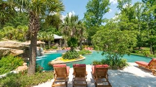 200 Acre Dream Estate With Greatest Back Yard Ever!! Amazing Pool Area!!