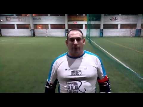 Oil & Gas Soccer League 2016: Deloitte (6) vs (2) GPA - José Miguel Velha (Delloite)