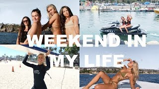 VLOG: surf lessons, jet skis, yachts, shopping & more!