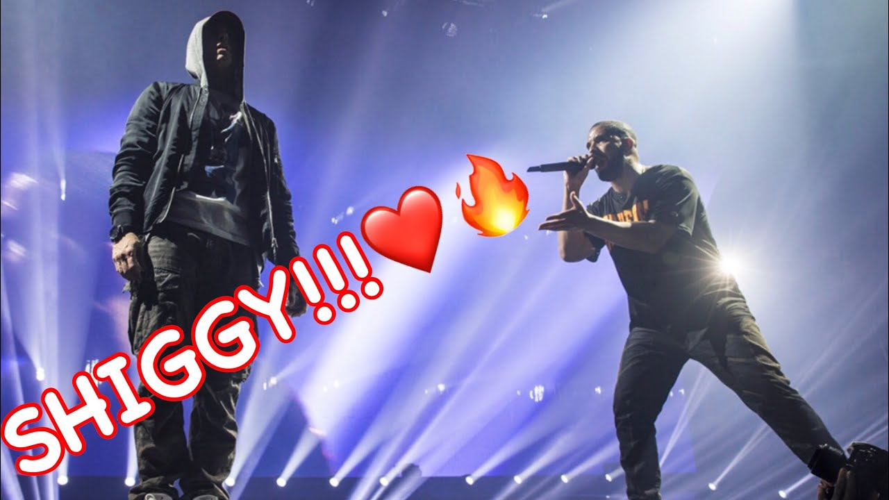 Drake brings Shiggy up on stage to DO THE SHIGGY