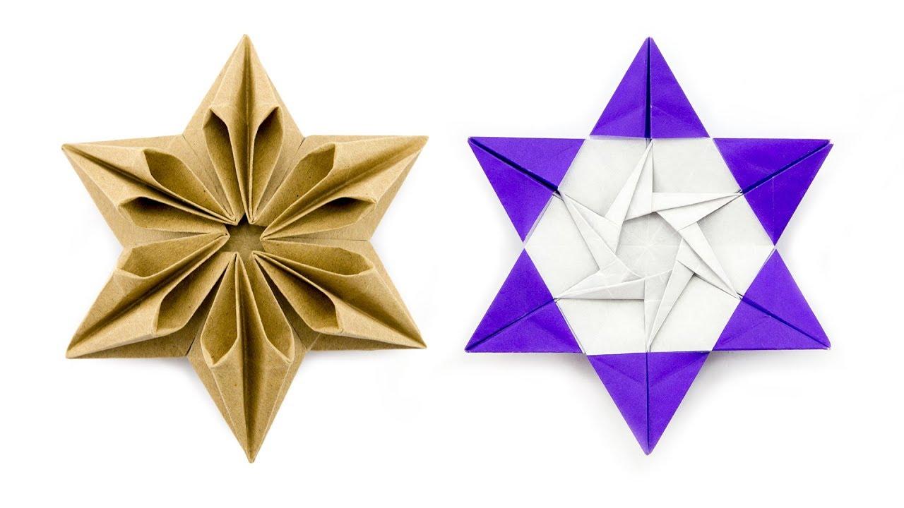 Origami Augustar Star Tutorial (José Meeusen) - Paper ... - photo#36