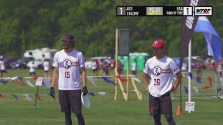 WUCC 2018 - Ring of Fire (USA) vs Colony (AUS)