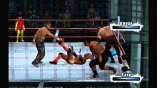 Smackdown vs. Raw 2009: Elimination Chamber for WWE Championship