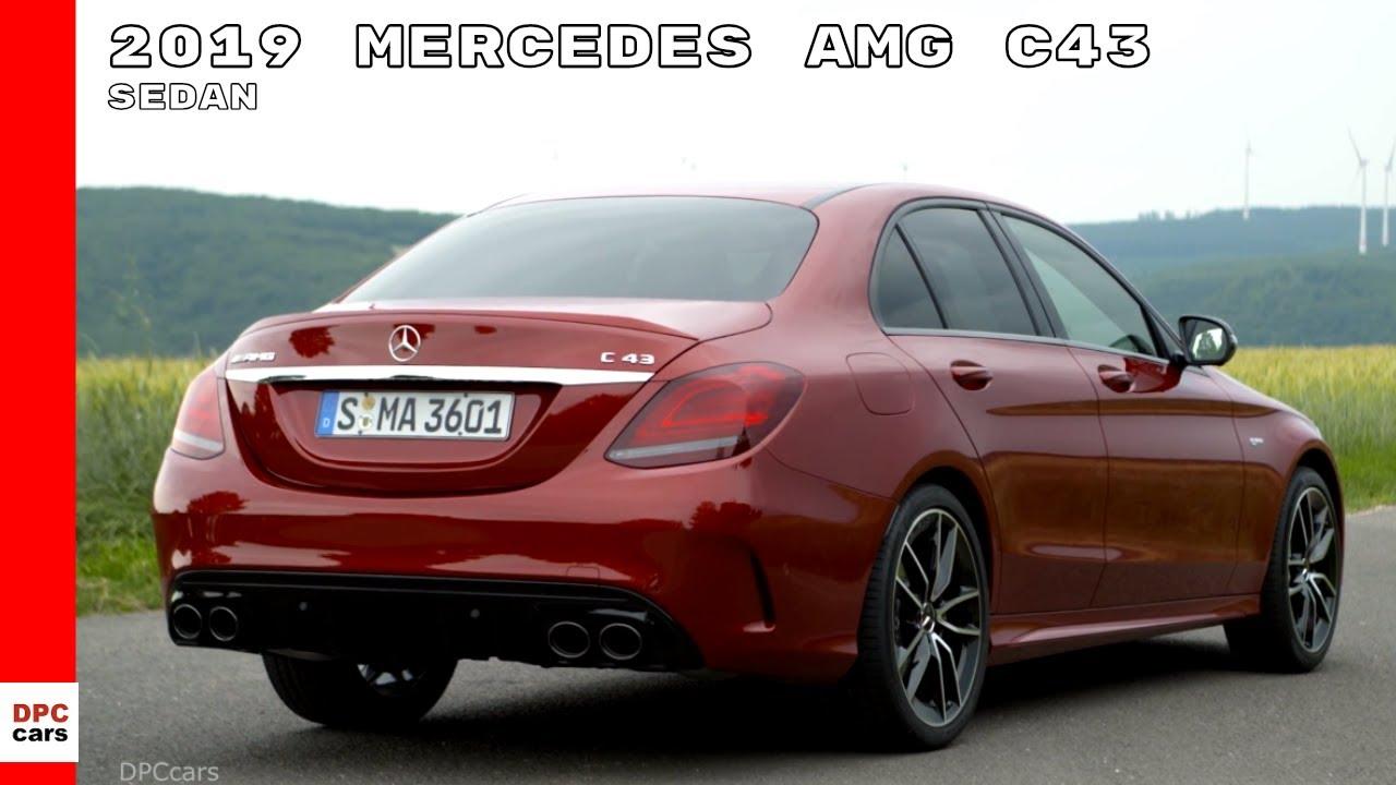C43 Amg Sedan >> 2019 Mercedes Amg C43 Sedan