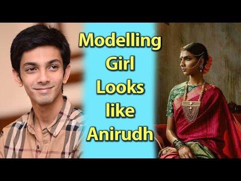 Modelling Girl Looks like Anirudh...