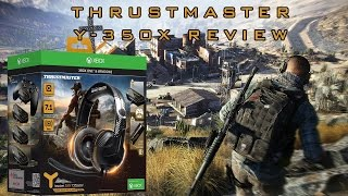 thrustmaster y 350x 7 1 ghost recon wildlands headset panda s gaming review