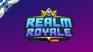 🔴 REALM ROYALE LIVE STREAM #5 - Lets Get Some Real Chicken Dinners! 🐔 Insane Clutch Win! (Solos)