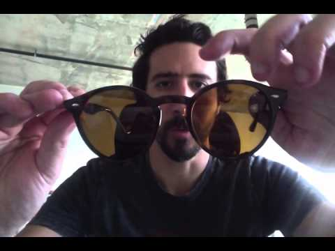 6f5d7b74b8 Ray-Ban RB 2180 Round Sunglasses Review - YouTube