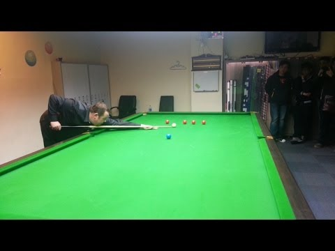 Snooker lesson by Stephen Lee
