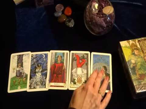 Расклад Таро  Да Нет на 5 карт