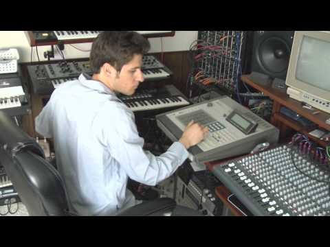 Akai MPC 60 Deep House/Trance Featuring Akai AX60 and Moog Little Phatty