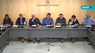 Ajuntament de Calafell: sessió plenària ordinària, 7 de maig de 2018