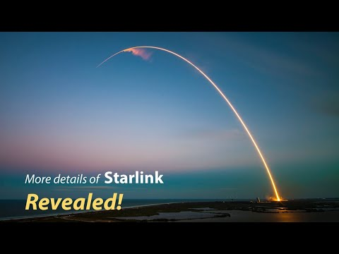 First SpaceX Starlink mission, why 60 Satellites? 550 km?
