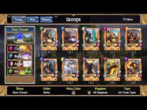 Team Builds Gems Of War