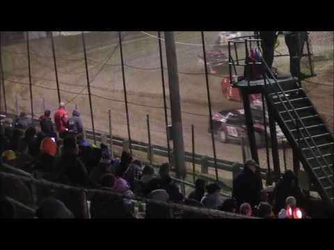UMP Modified Heat #2 from Moler Raceway Park, November 12th, 2016.