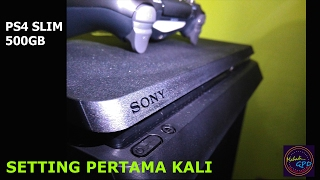 SETTING Awal PS4 SLIM Gak perlu update