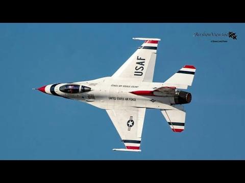 USAF Thunderbirds @ 2017 Gulf Coast Salute Open House