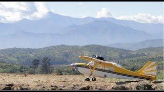 """RC DeathStick Landing Super Decathlon 89"""" Dynaflite KIT - DLE30cc, Limache Viña Chile, Barroilhet"""