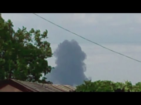 MH17 - Malaysian airliner MH17 shot down video