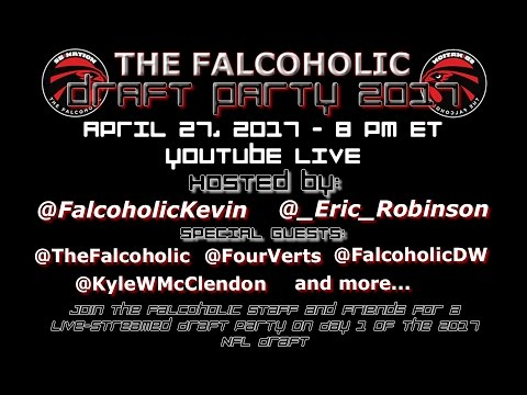 The Falcoholic Draft Party 2017