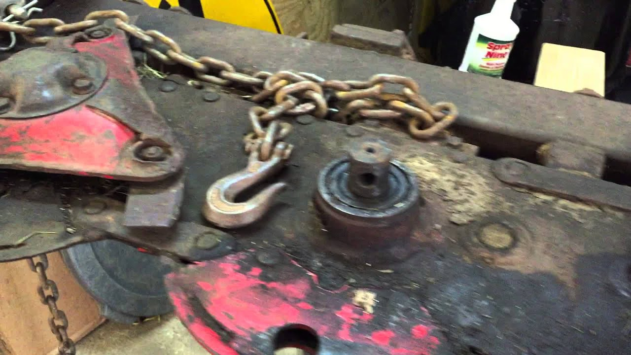 Vicon KM 281 Cutter bar Rebuild Part 1 - YouTube