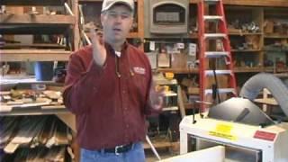 Woodmaster Planer/molder With Gary Striegler (part 6)