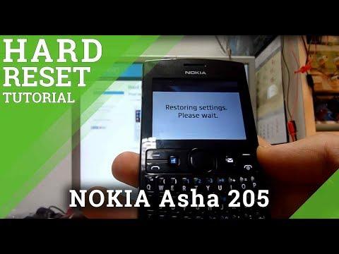 Hard Reset NOKIA Asha 205