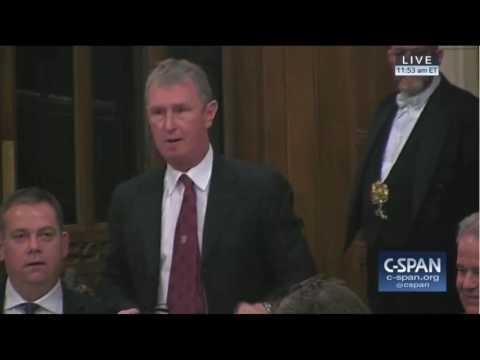 British debate on President Trump's State Visit Nigel Evans Defense