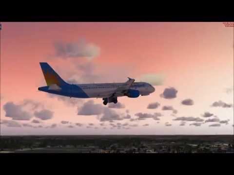 FSX: A320 to Port Columbus