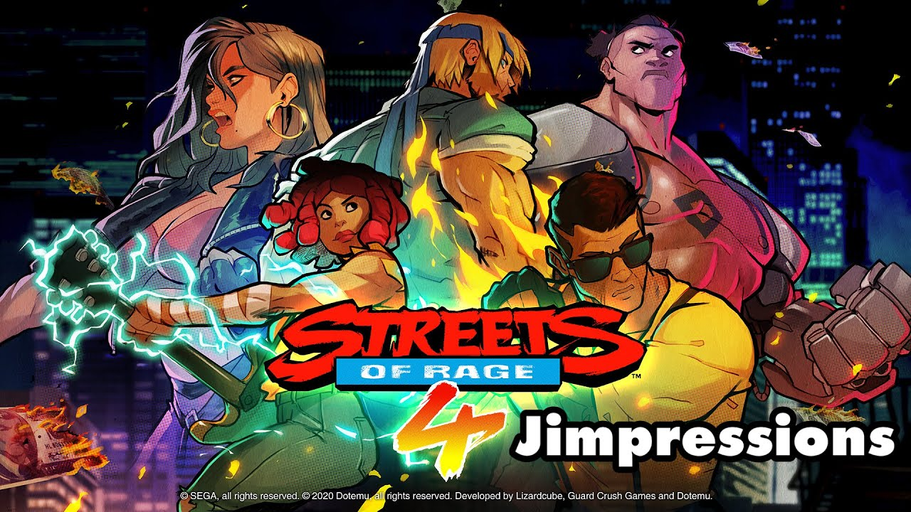 Streets Of Rage 4 - Brawl I Ever Wanted (Jimpressions)