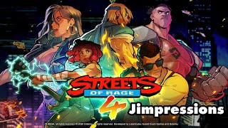 Streets Of Rage 4 - Brawl I Ever Wanted (Jimpressions) (Video Game Video Review)