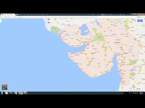 animated map of gujarat