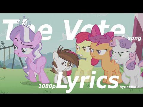  1080p Lyrics  The Vote  MLP:FiM Season 5 Song 