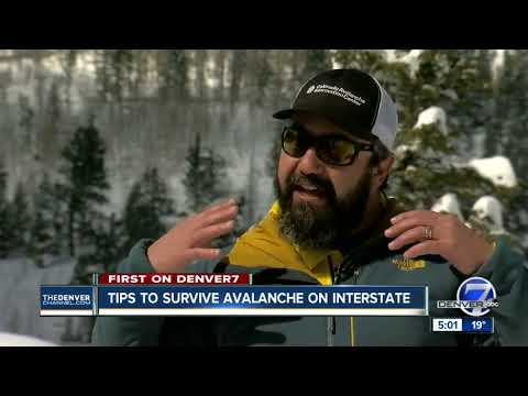 Tips to survive avalanche on interstate