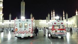 الوطن اليوم | #الهلال_الأحمر يبدأ تنفيذ خطة العمرة بالمسجد النبوي