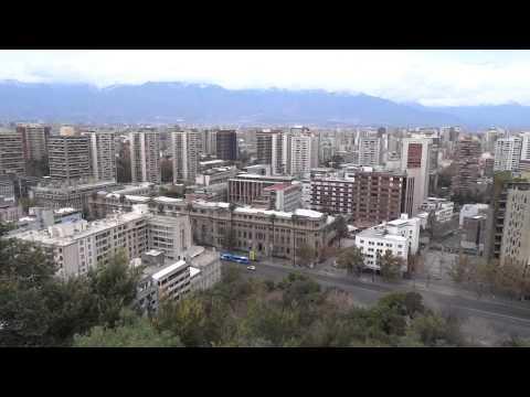 Chile - Santiago from Santa Lucía Hill (21.05.2014)