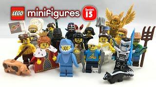 lego minifigures collection
