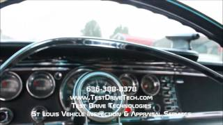 1963 Chrysler New Yorker Wagon Classic Car Inspection Video - Test Drive Technologies